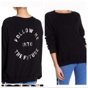 NWT! Wildfox Follow Me into the Future sweatshirt
